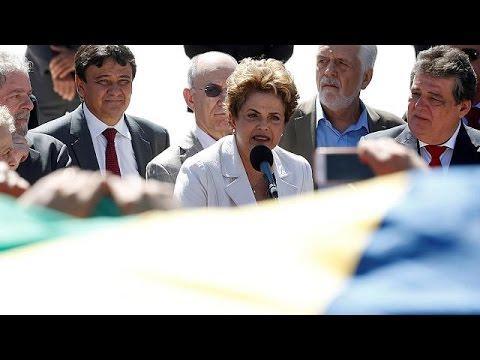 Βραζιλία: Σε δίκη παραπέμπεται η Ντίλμα Ρούσεφ – Κατηγορεί την αντιπολίτευση για «πραξικόπημα»
