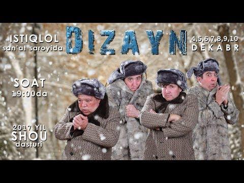 Video Afisha - Dizayn SHOU 4-5-6-7-8-9-10-dekabr kunlari konsert beradi 2017 download in MP3, 3GP, MP4, WEBM, AVI, FLV January 2017