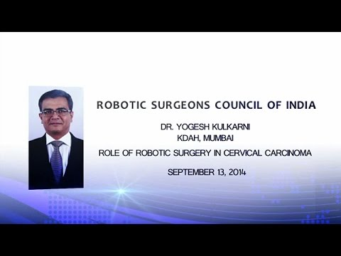The Role of Robotic Surgery in Cervical Carcinoma