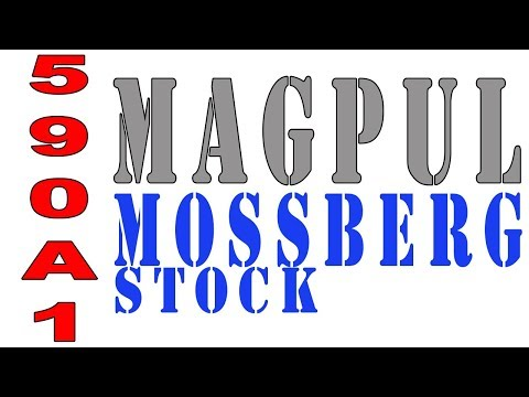 Magpul - New Magpul shotgun furniture for the Mossberg 500 590 and 590A1 shotguns. SGA Stock Installation and MOE Forend for Mossbergs. Quick unboxing and install vid...