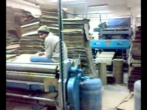 Machine Corrugated - SENIOR Engineering Corrugation Manufacturers & Exporters of Double Profile High Speed Paper Corrugation Machine, Paper Corrugating Board & Box Making Machine...