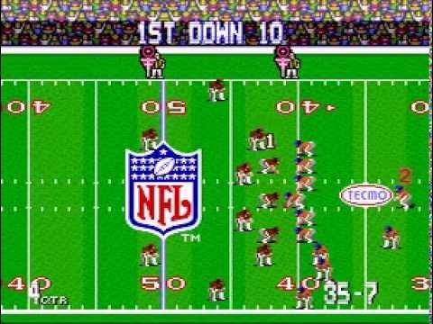 Tecmo - 1992 Season Week 6.