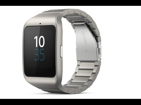 CES 2015 Sony Goes After The Apple Watch With Steel SmartWatch 3