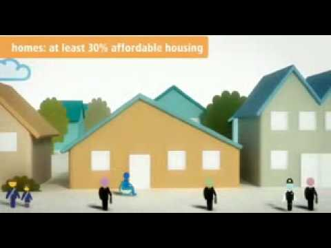 Government eco town consultation video what an eco town might look like