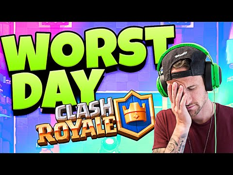 WORST DAY in CLASH ROYALE