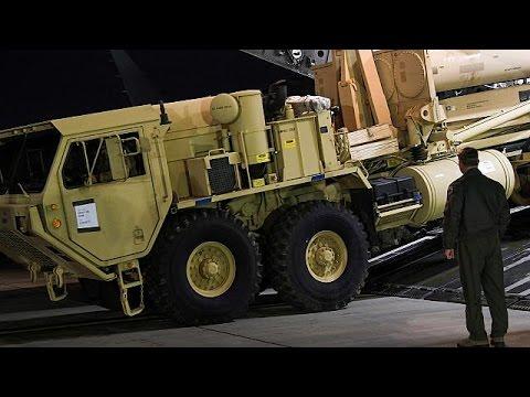 Οι ΗΠΑ αναπτύσσουν το αντιπυραυλικό σύστημα THAAD στη Νότια Κορέα μετά τις νέες απειλές της…