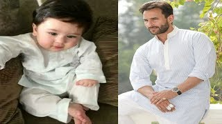 Once again, a cute picture of Taimur has been making the rounds online. It sees the baby boy dressed up in a simple white cotton kurta-pajama, striking a pose on a sofa in true Nawabi style. Click here to DOWNLOAD the Bollywoodbackstage Mobile App Android APP-https://play.google.com/store/apps/details?id=com.app.bollywoodapp iOS  APP-https://itunes.apple.com/app/id959275342 For more Bollywood news and gossiphttp://www.youtube.com/user/bollywoodbackstage?feature=mheeSubscribe at http://www.youtube.com/subscription_center?add_user=BollywoodBackstageLike us on Facebookhttp://www.facebook.com/bollywoodbackstageFollow us on Twitterhttps://twitter.com/#!/BollywoodBstage