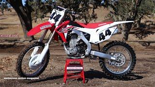 6. First Ride 2015 Honda CRF450 Motocross Action Magazine