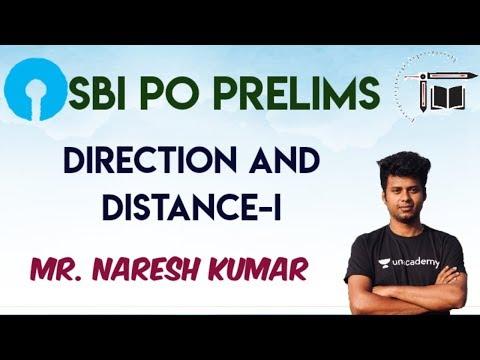 SBI PO prelims Direction and Distance-I   Mr.Naresh kumar