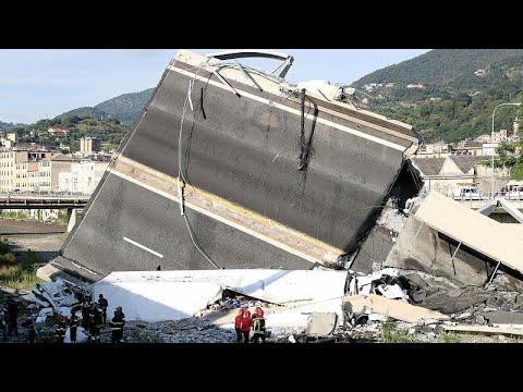 Γένοβα: Τουλάχιστον 35 οι νεκροί από την κατάρρευση της γέφυρας…