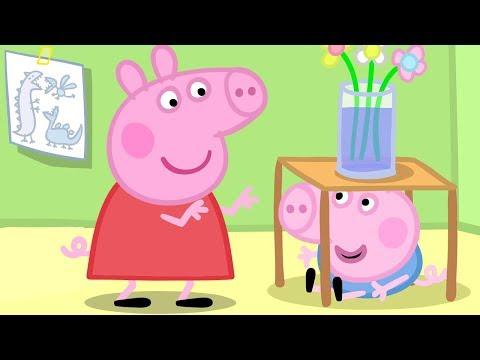 Peppa Pig in Hindi - Hide and Seek - Luka Chuppi - हिंदी kahaniya - Hindi Cartoons for Kids