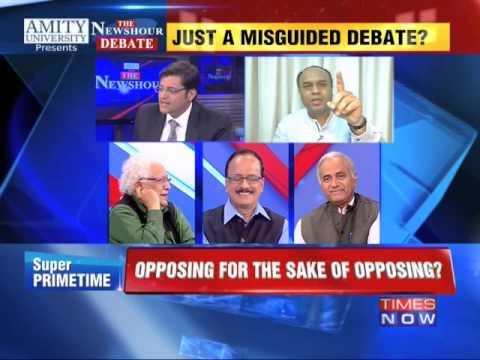 The Newshour Debate: Land Bill War Explodes in Parliament (26th Feb 2015)