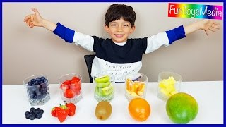 Video Learn Fruits with Smoothies for Children and Toddlers   Learn Colors with Fruits Taste Challenge MP3, 3GP, MP4, WEBM, AVI, FLV Mei 2017