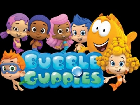 Гуппи и пузырики мультфильм на русском языке  Баббле Гаппиес  Игра для детей новые приключения