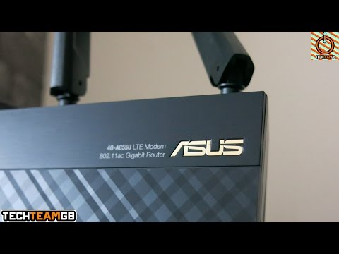 Asus 4G AC55U 4G Router Review