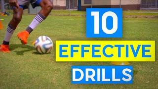 10 Effective Football Drills