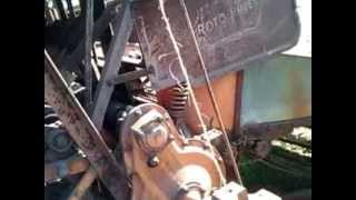 Video walk around of my roto baler. D17 is 1959, not 1957 as said in video.