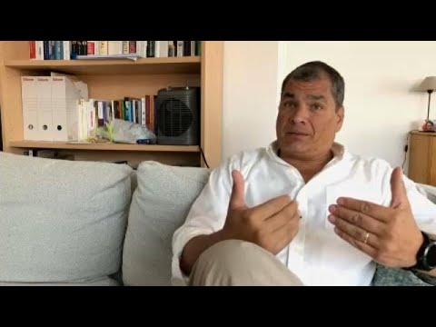 Rafael Correa, Ex-Präsident von Ecuado: