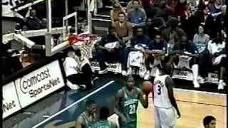 Michael Jordan 51 pts vs. Hornets - 38 years old - 2001