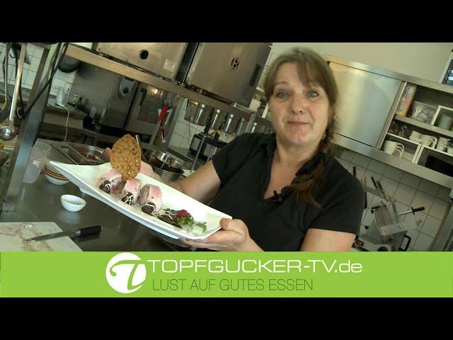 Mandel Honig Hippe - Teil 1 | Dessert Himbeer - Minz - Parfait | schokolierte Früchte