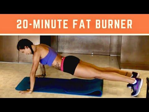 20 MINUTE FAT BURNER  AT HOME WORKOUT
