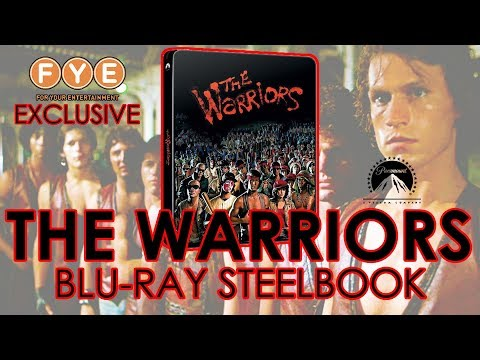 The Warriors (1979) Blu-ray Steelbook Unboxing | F.Y.E. Exclusive (4K Video)