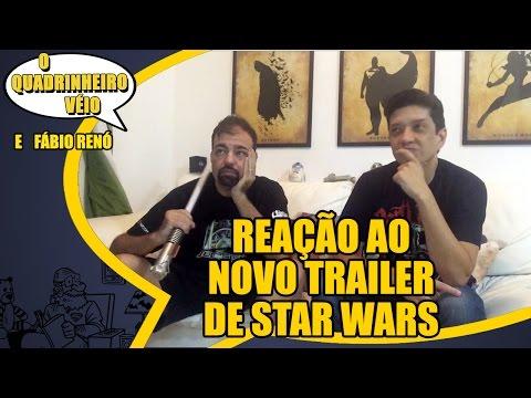 Reação ao vivo ao novo trailer de Star Wars