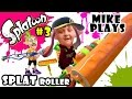 Lets Play SPLATOON Part 3:  Mike & the Splat Roller! Dad & The Charger! TURF WAR w/ Dad & Son!