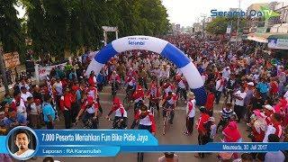 7.000 Peserta Meriahkan Fun Bike Pidie Jaya
