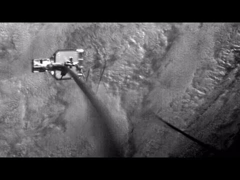 Weltraumschrott: Harpune soll Müll im All aufspieße ...