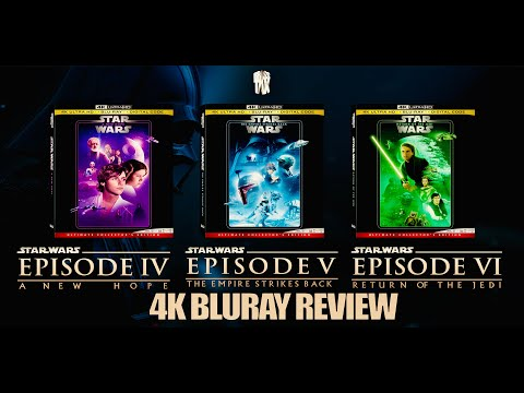 Star Wars Episodes 4, 5 and 6 4K Ultra HD Blu-ray Review