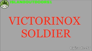 """VICTORINOX SOLDIER, """"The True Swiss Army Knife"""". From 1962 through 2007 this 93mm Alox scaled model was the official..."""