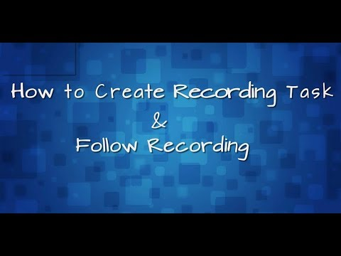 How to Create Recording Tasks with ApowerREC