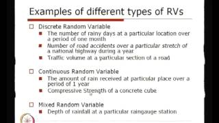 Mod-01 Lec-06 Concept And Defination Of Random Variables