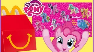 There are a total of 8 ponies to collect for these new 2016 My Little Pony McDonald's Happy Meal Toys. The 8 MLP tails change color in the sun!! Enjoy this toy review video! I forgot to publish this video and well better late then never!!#1 Pinkie Pie#2 Rainbow Dash#3 Fluttershy#4 Button Belle#5 Princess Twilight Sparkle#6 Coco Pommel or Miss Pommel#7 Rarity#8 Starlight GlimmerI hope you enjoy this video !~~~~~~~~~Follow me on~~~~~~~~~~~Facebook: https://www.facebook.com/pages/Fairly...Instagram:https://instagram.com/fairlyevi/Twitter:https://twitter.com/fairlyevi~~~~~~~~~~~~~~~~~~~~~~~~~~Thank you princesses for watching ❤️Remember Dreams do Come True!!_________Videos you will like ___________New Shopkins Go Shopping Card Game by Moose Toys Review https://www.youtube.com/watch?v=K1q-n...Shopkins Season 3 Food Fair Playset Sweet Treats Exclusive Shopkins Cupcake Collection Playset https://www.youtube.com/watch?v=oCueJ...Opening Shopkins Cool Casual Collection Playset Season 3 Fashion Spree https://www.youtube.com/watch?v=4ATzW...Opening Shopkins trading cards Deluxe Packs Bullsitoy https://www.youtube.com/watch?v=AHRCw...Shopkins Season 3 Playset Ballet Collection Fashion Spree w/ Exclusive Piano Music Box Toy Unboxing https://www.youtube.com/watch?v=hb8JF...Shopkins Stacking Challenge!! https://www.youtube.com/watch?v=vvFQZ...Shopkins Season 3 Mega 20 Pack Opening! https://www.youtube.com/watch?v=BPHCn...ALL NEW SHOPKINS - COLLECTOR TRADING CARDS OPENING! By Bulls-i-Toy https://www.youtube.com/watch?v=JHhnP...SHOPKINS SEASON 3 - Blind Baskets Plus 5 pack Opening https://www.youtube.com/watch?v=x_b5j...Fairly Evi is a SUPER FUN KID FRIENDLY channel for kids of ALL ages to watch! I like to review and open  Princess Dolls,Play Doh, Spongebob, Angry birds, Barbie, My little pony, LEGO, Talking Tom, Kinder surprise eggs with collecting toys inside, Orbeez sets, Cinderella, despicable Me, Minions, Shopkins. PeppaPig Pocoyo Bubble Guppies!!! I love Play Dough, DisneyFroze