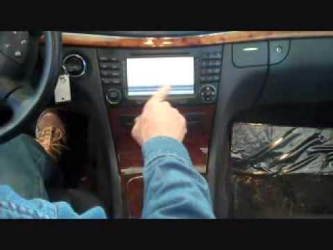 Mercedes Benz E Class Stereo Removal