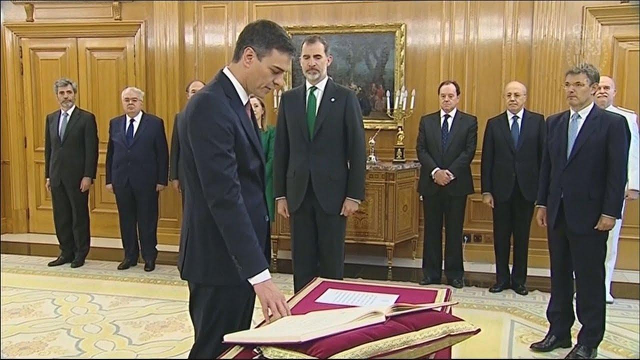 Ο Πέδρο Σάντσεθ ορκίστηκε νέος πρωθυπουργός της Ισπανίας