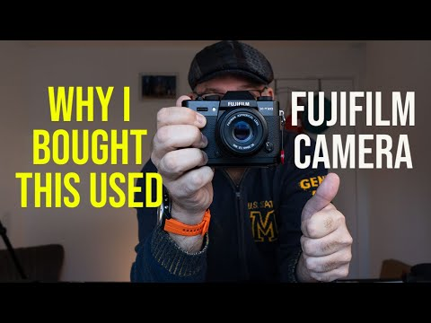 Why Did I Buy This Used Fuji Camera In 2021? I Considered The X-E4 and X-S10 But Chose This One!