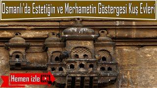 Merhaba arkadaşlar,Bu videomda Osmanlı Devleti'nin merhametini ve yapılardaki estetiği gösteren kuş evlerini araştırdım. Hadi izleyelim..