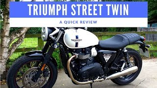 3. 2018 Triumph Street Twin Motorcycle Review (fitted with Vance and Hines exhaust)