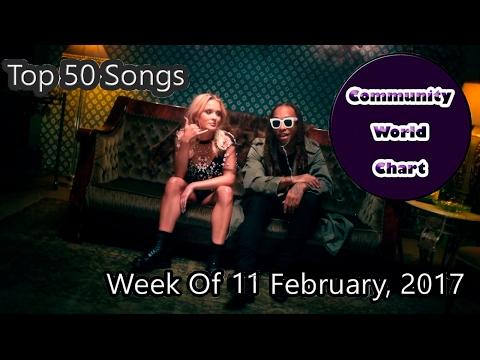 Community Top 50 Songs - Week Of 11 February, 2017