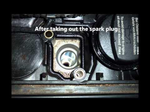 DIY Mercedes Benz Spark Plug Change on a c230k
