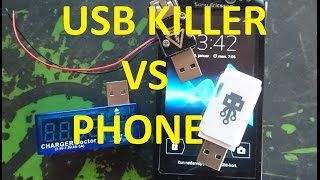 USB Killer VS Sony Ericsson Xperia Neo V TEST (description for spoilers and timestamps!)