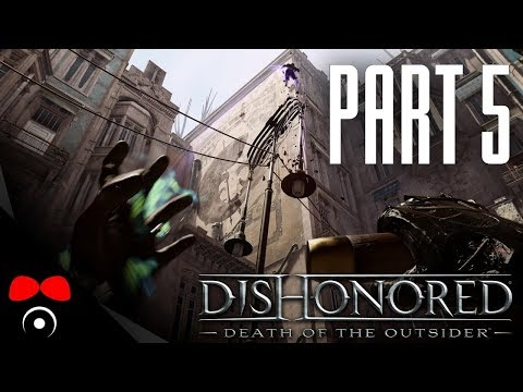 BANKOVNÍ HEIST! | Dishonored 2: Death of the Outsider #5