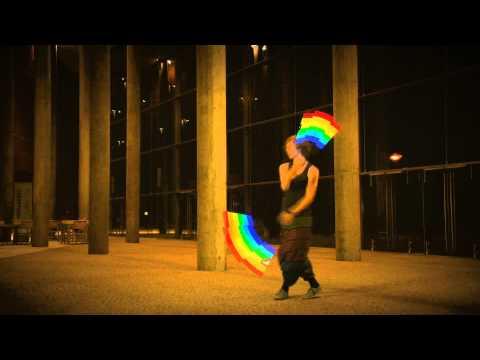 只有在拉斯維加斯才看的到的炫光舞表演!!