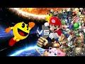 Ssb4 Montage Pac man Vs Smash Bros