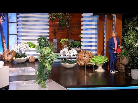 Ellen Gives a Backstage Tour