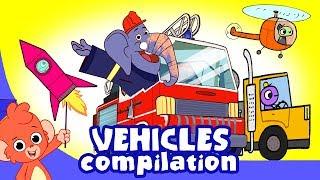 Video Cars for kids   vehicles cartoon compilation   Car Wash cartoons truck construction videos MP3, 3GP, MP4, WEBM, AVI, FLV September 2018