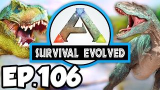 ARK: Survival Evolved Ep.106 - DRAKE BATTLE PREP & PENGUIN MASSACRE!!! (Modded Dinosaurs Gameplay)