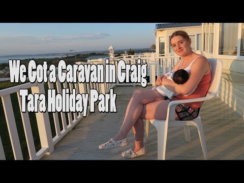We Got a Caravan in Craig Tara Holiday Park - Vlog 154 - (13.05.2016) (видео)